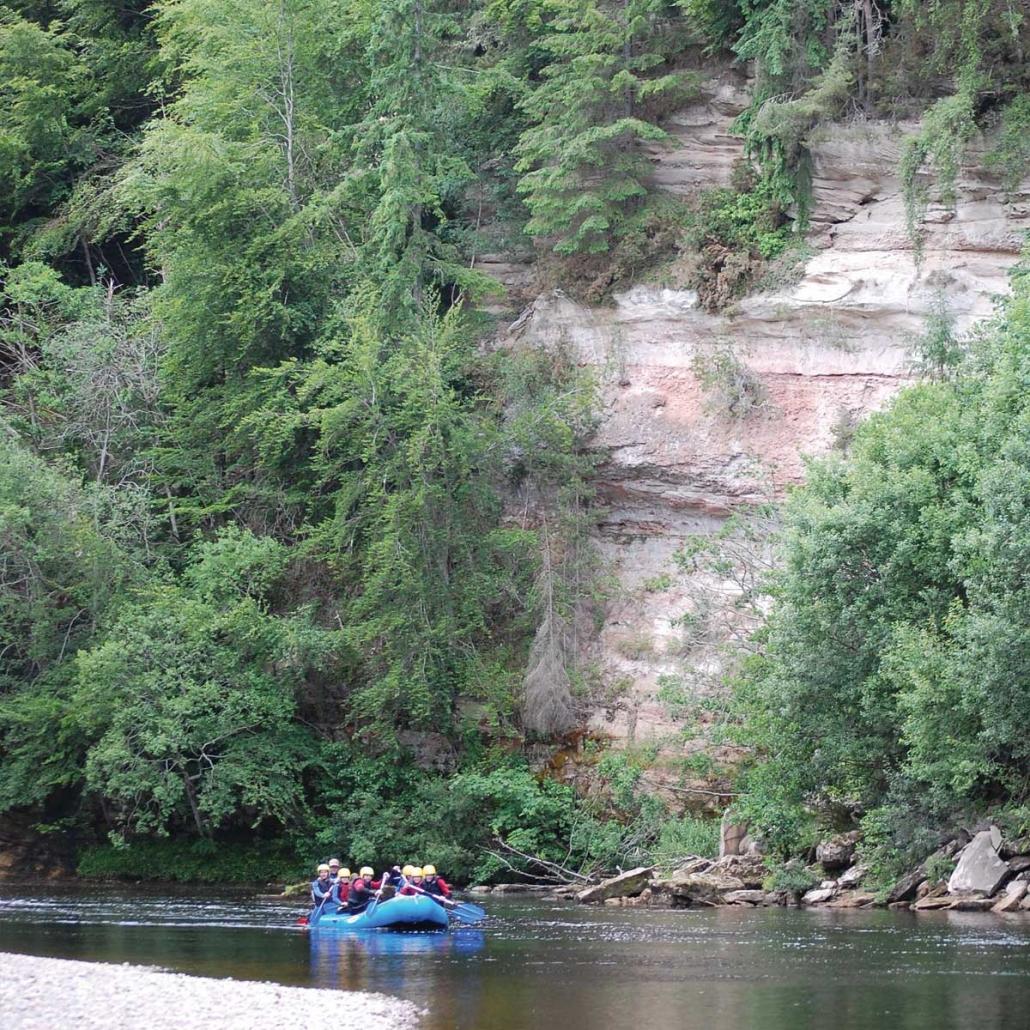 The River Findhorn Morayshire adventure activity scotland