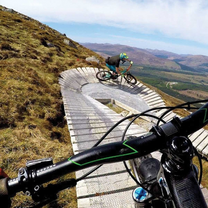 Mountain Biking Trails and Treks on the hills of Scotland on your Custom Adventure Tours Scotland