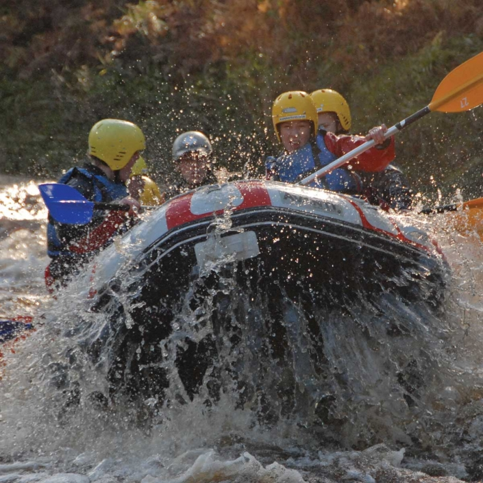 white water rafting in Scotland offers stunning landscapes and photography opportunities in Scotland on your unique adventure tour