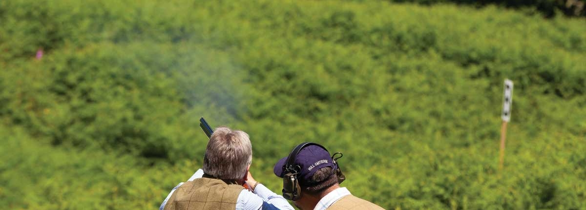Clay Pigeon shooting in Dunkeld with Unique Adventure Tours Scotland adventure activity tours