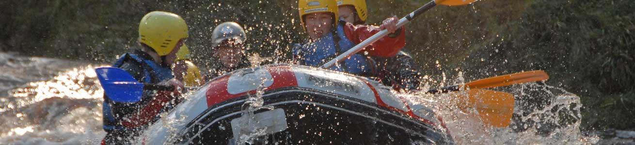 whitewater rafting with unique adventure tours scotland on the river findhorn