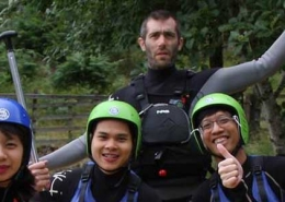 white water rafting with unique adventure tours scotland