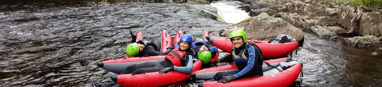 unique adventure tours scotland river bugging on the river tummel