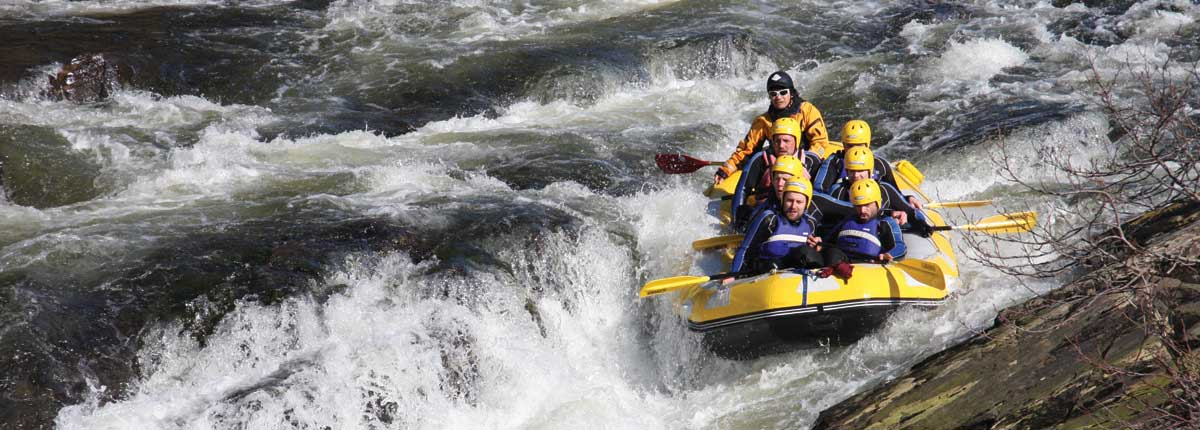 Rafting the River Orchy with Unique Adventure Tours Scotland