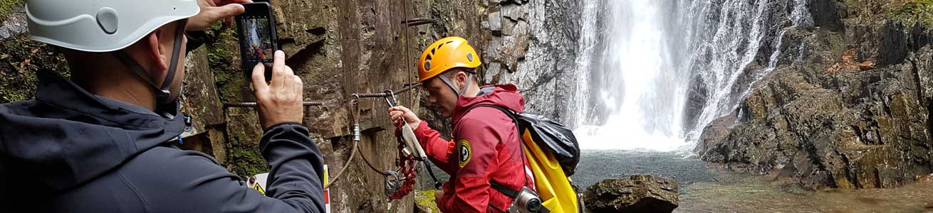 Unique Adventure Tours Scotland Via Ferrata in Kinlochleven near Fort William