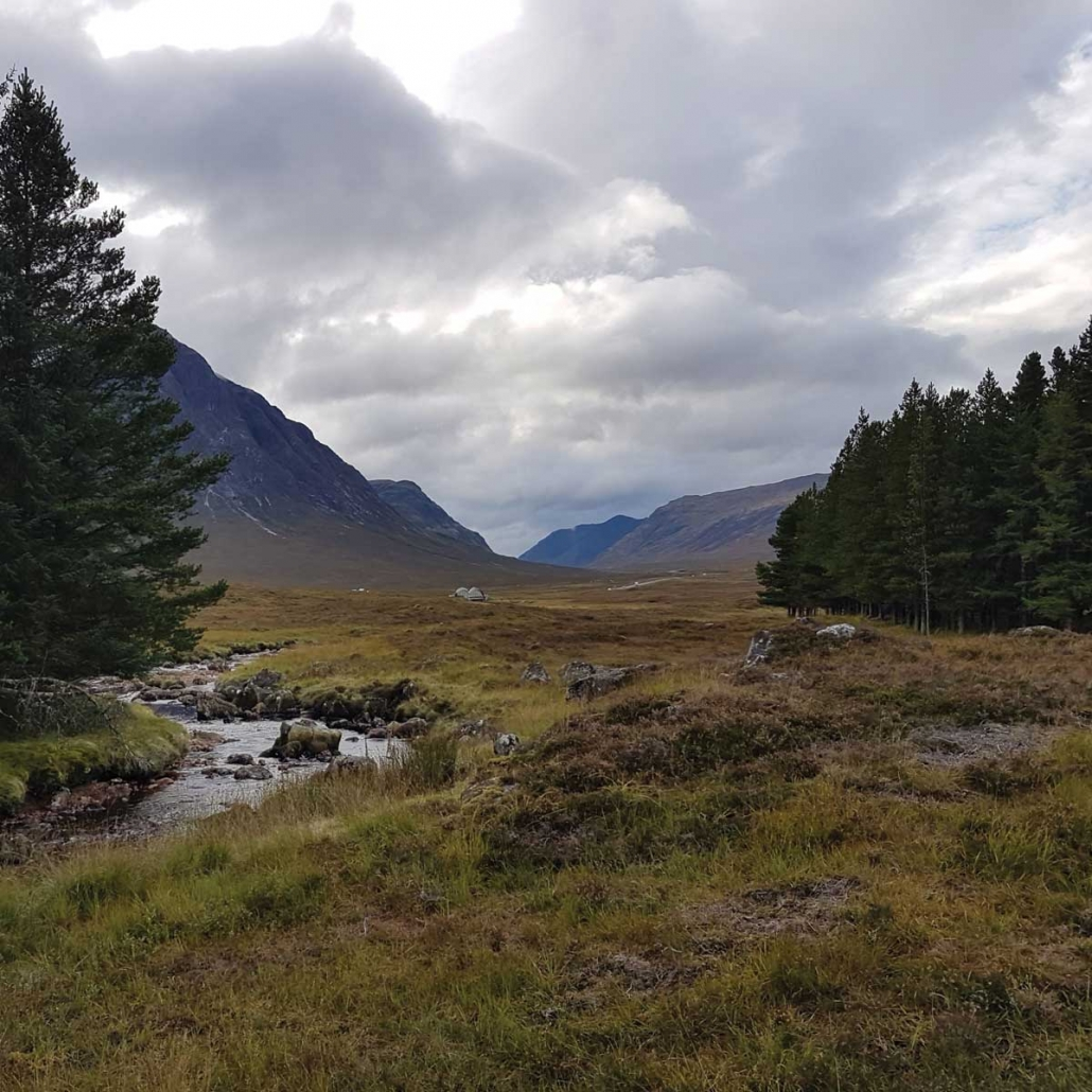 Glencoe's the Kingshouse Hotel with Unique Adventure Tours Scotland the perfect resting point for your Scottish activity adventure tour