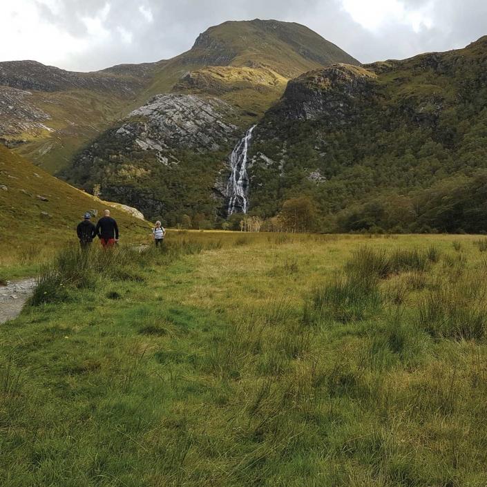 Views from Steall Falls walk in Glen Nevis activity breaks in Scotland