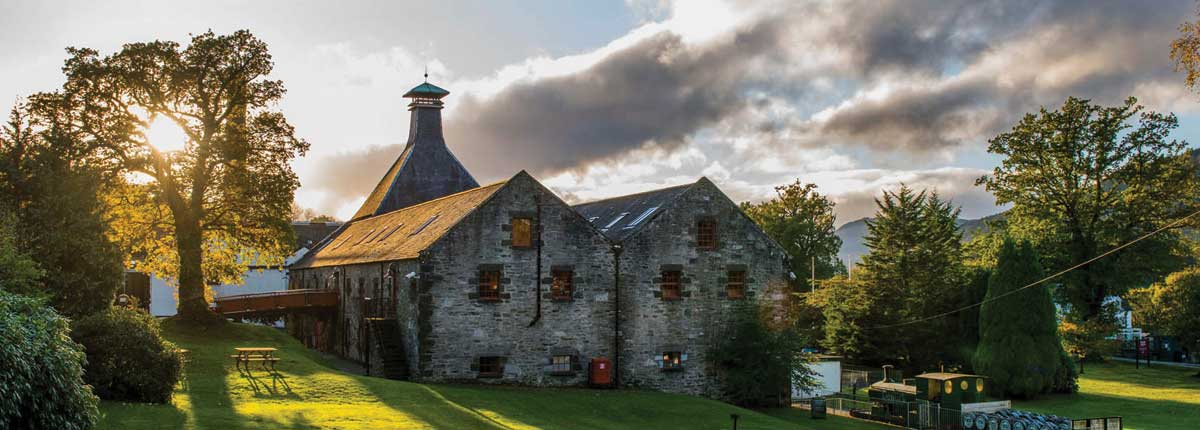 Aberfeldy Whisky Distillery Tours