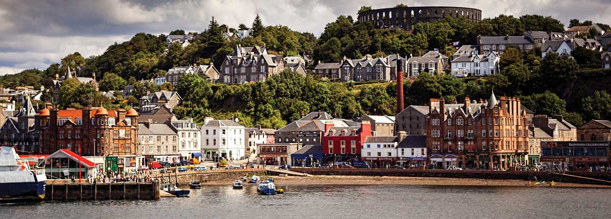 Oban Harbour destination for Standup Paddle Boarding in Scotland