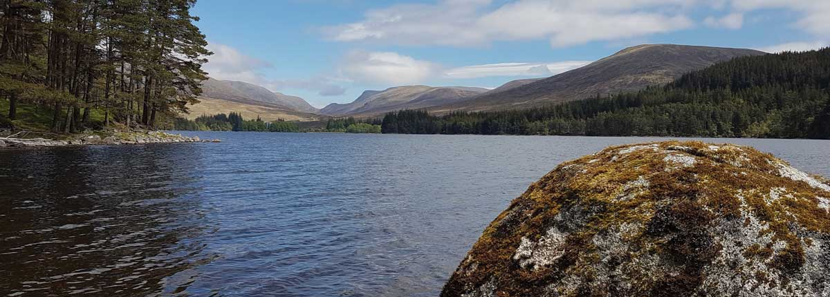 Loch Ossian Corrour with Unique Adventure Tours Scotland Private Tours