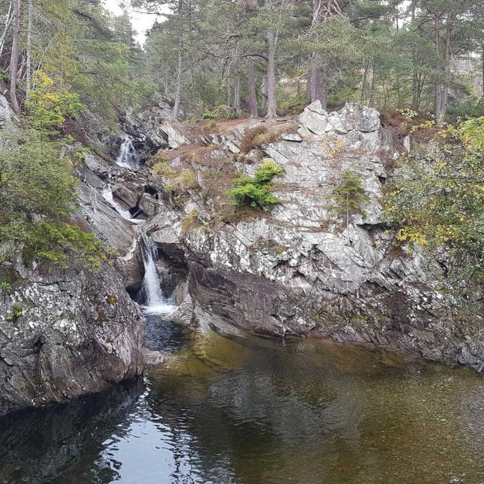 The Falls of Bruar Blair Atholl Perthshire