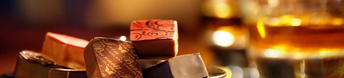 Enjoy a glimpse into the art of a Master Chocolatier, the differing flavours, ingredients and textures of Iain Burnett's creations