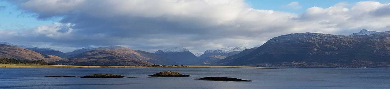 Stunning views on tour in the Scottish Highlands