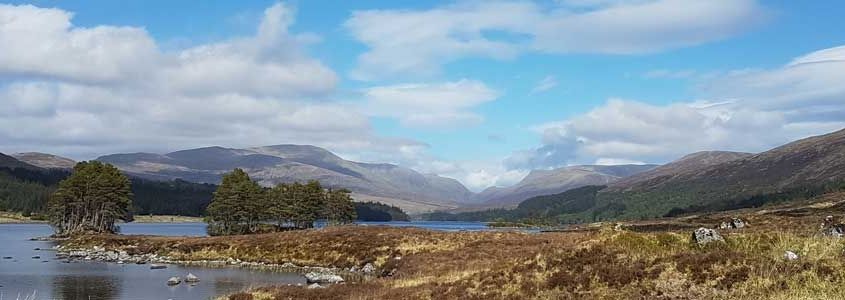 Trail walking on tour in Scotland on your Scottish Adventure