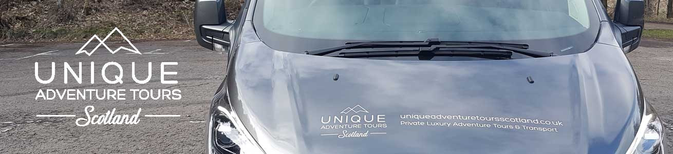 Custom adventure tours with private transport in Scotland