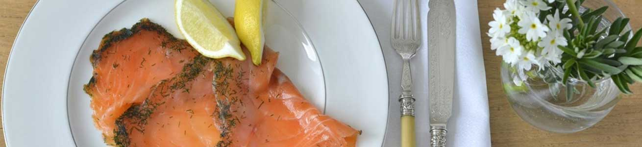 Food tastings on tour in Highland Perthshire - Smoked Salmon from Dunkeld Smoked Salmon