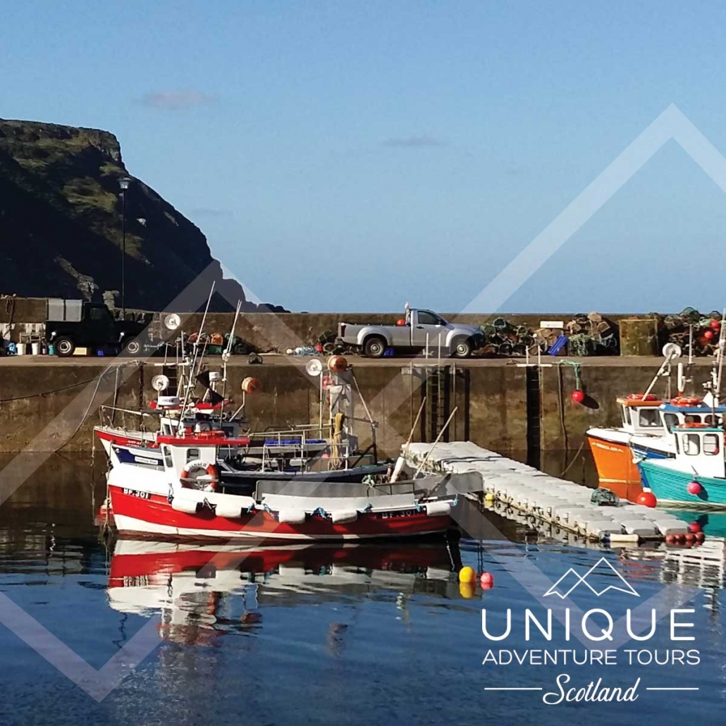 Fishing Boats in Gardenstown Harbour