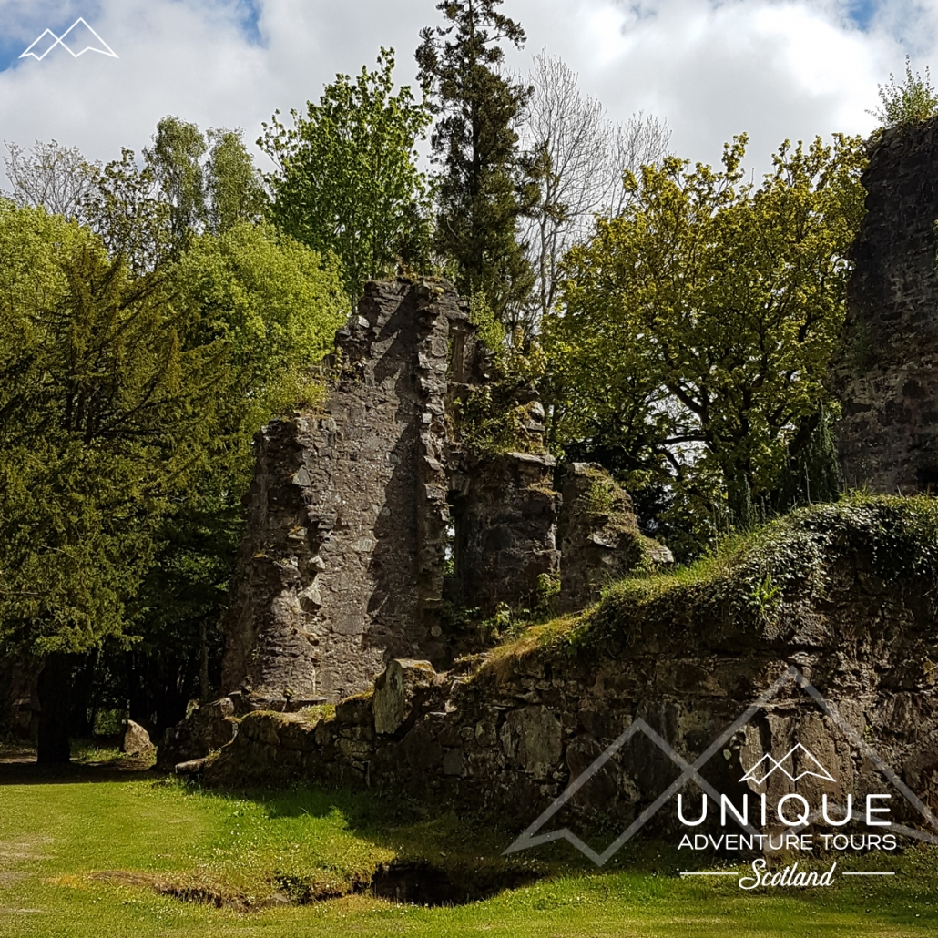 Finlarig Castle Ruins on the edge of Killin