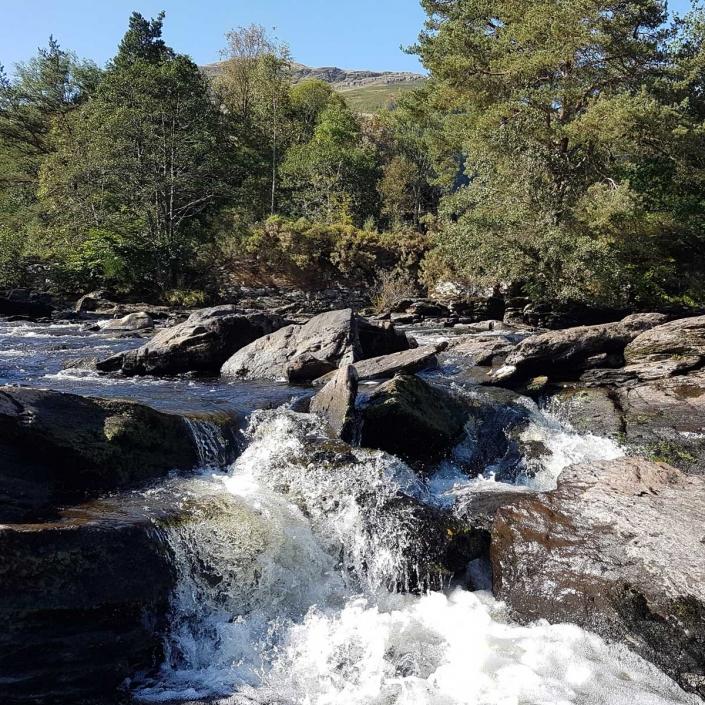 The Dochart Falls
