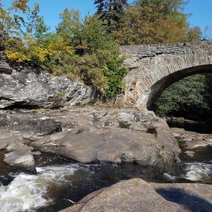 Bridge over the Falls of Dochart
