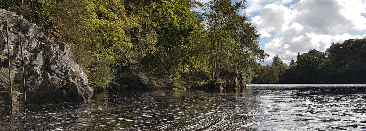 Standup Paddleboarding Tours Loch Faskally Perthshire Adventures