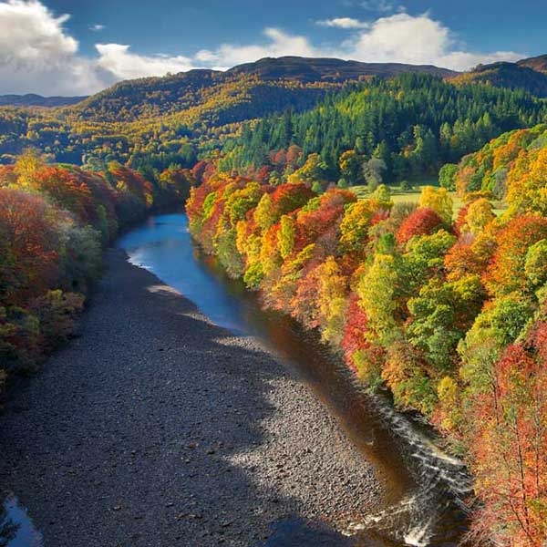 Killiecrankie Zip Perthshire Scotland