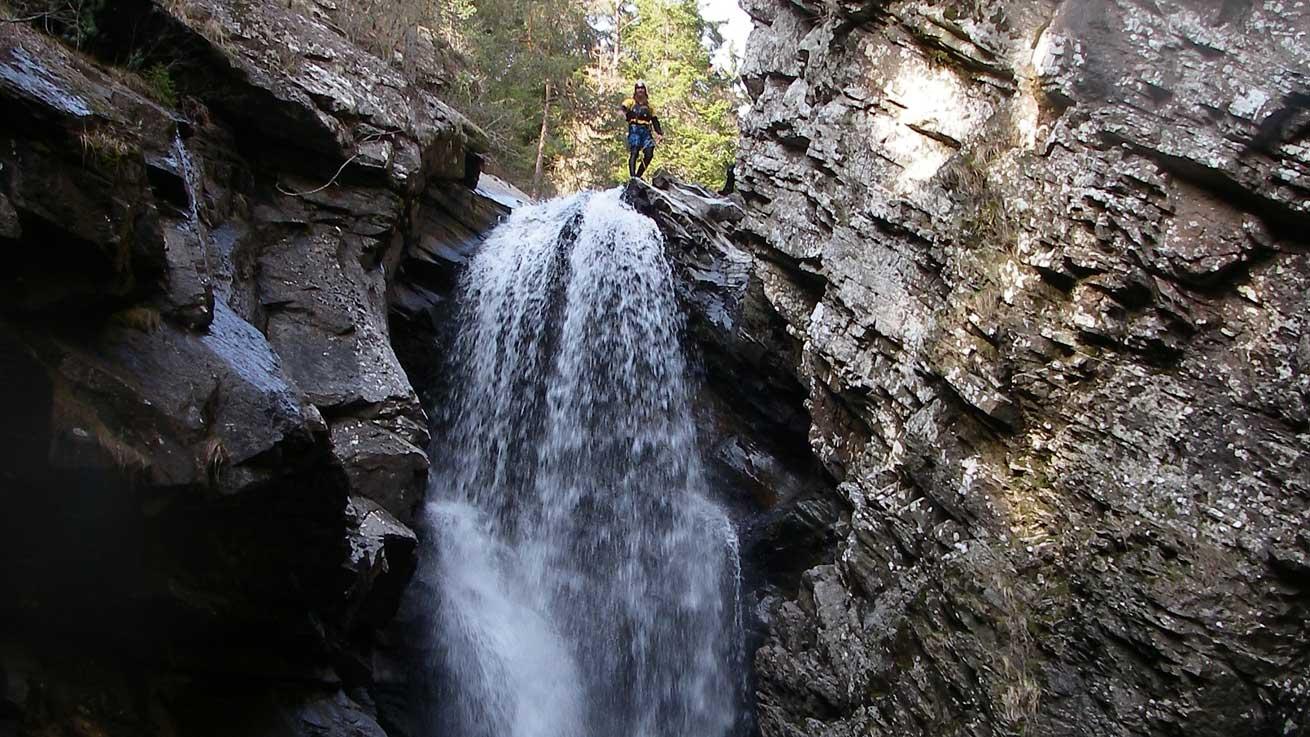 Scottish Canyoning Adventure