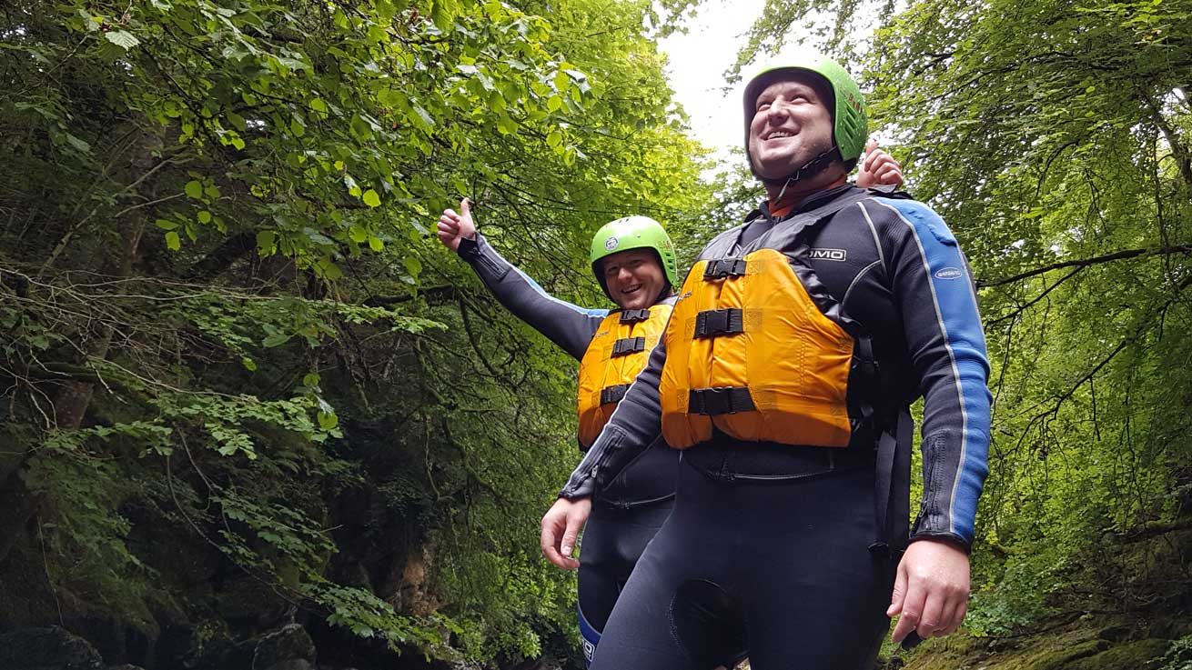 Canyoning Adventure Tours Scotland