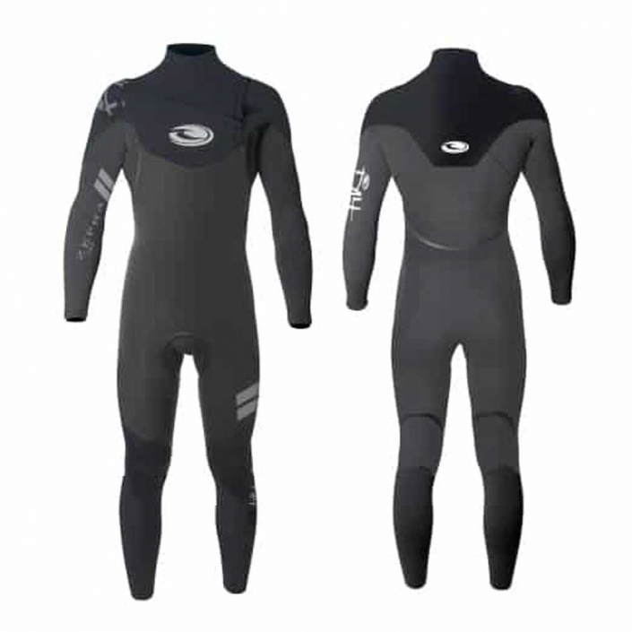 Choosing the Right Wetsuit Full Cut Wetsuit with Chest Zip from Tiki Surf