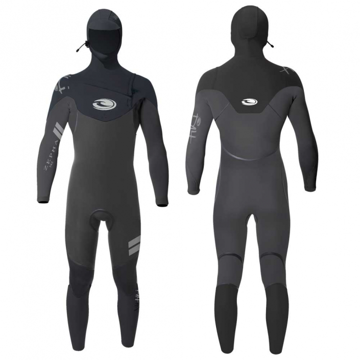 Choosing the Right Wetsuit Full Cut Wetsuit with Chest Zip and Hood from Tiki Surf