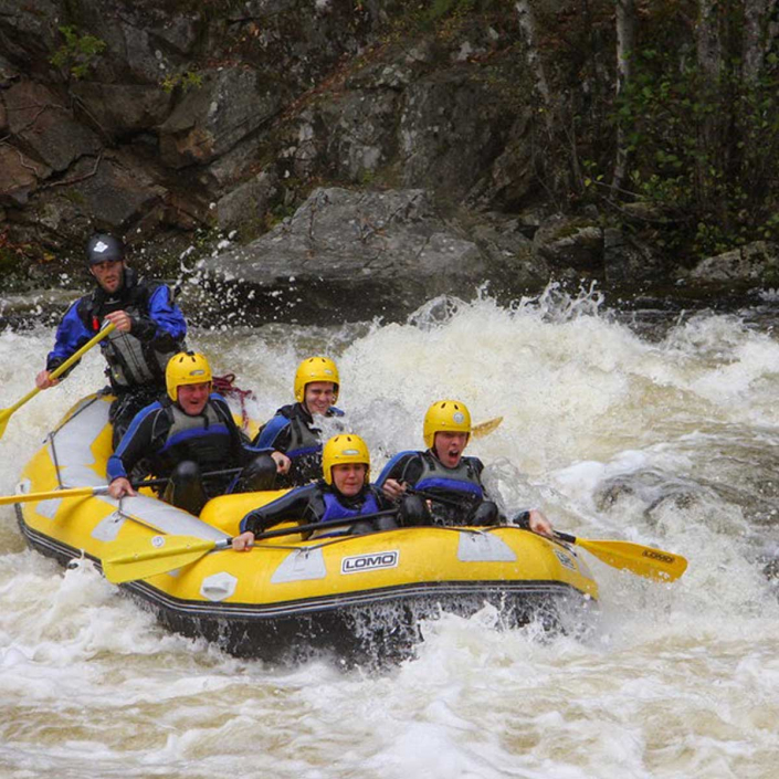 Adventures in Scotland White Water Rafting