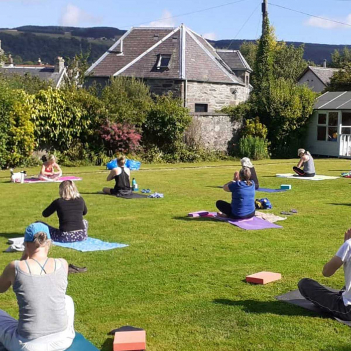 Well-being escapes in Perthshire Scotland